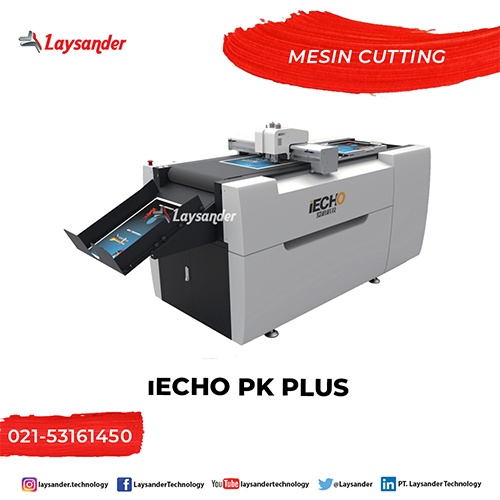 mesin laser cutting advertisings IECHO PK PLUS