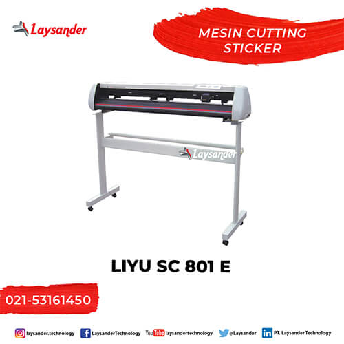 Mesin cutting sticker plotter liyu tc
