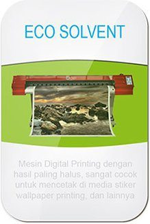 Mesin Digital Printing Eco Solvent
