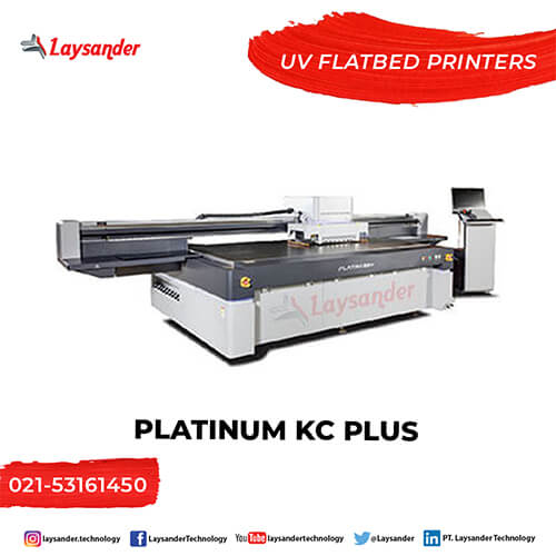 Mesin Digital Printing Printer UV Platinum KC Plus