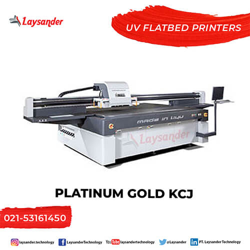 Mesin Digital Printing Printer UV Platinum DS Hybrid