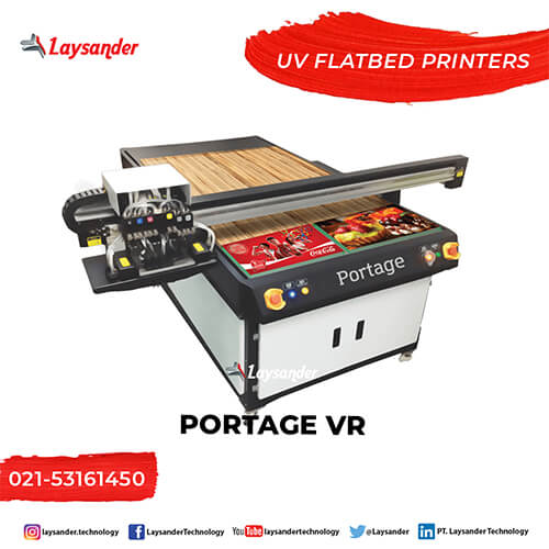 mesin digital printing uv Flatbed Printer Portage VR