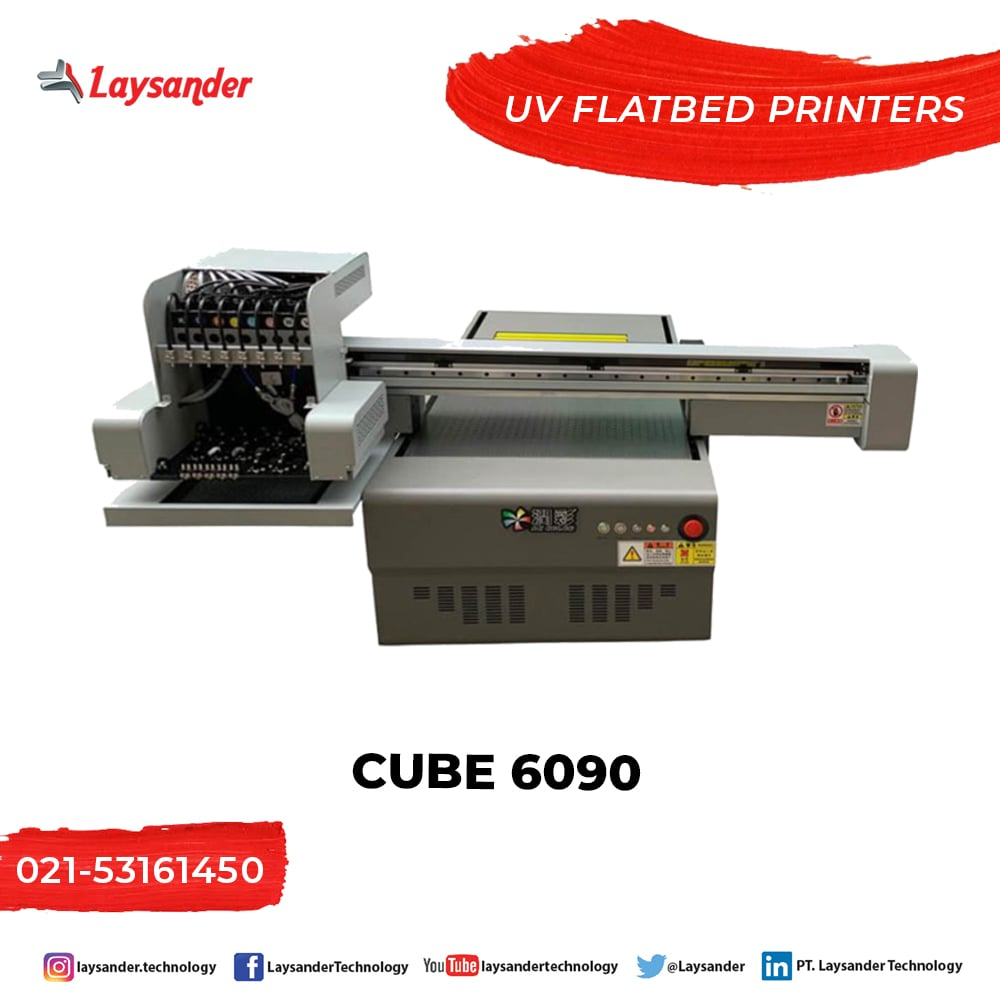 Printer UV Flatbed CUBE 6090