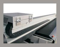 UV Flatbed Printer | Liyu KS Spectrum | Carriage tampak belakang
